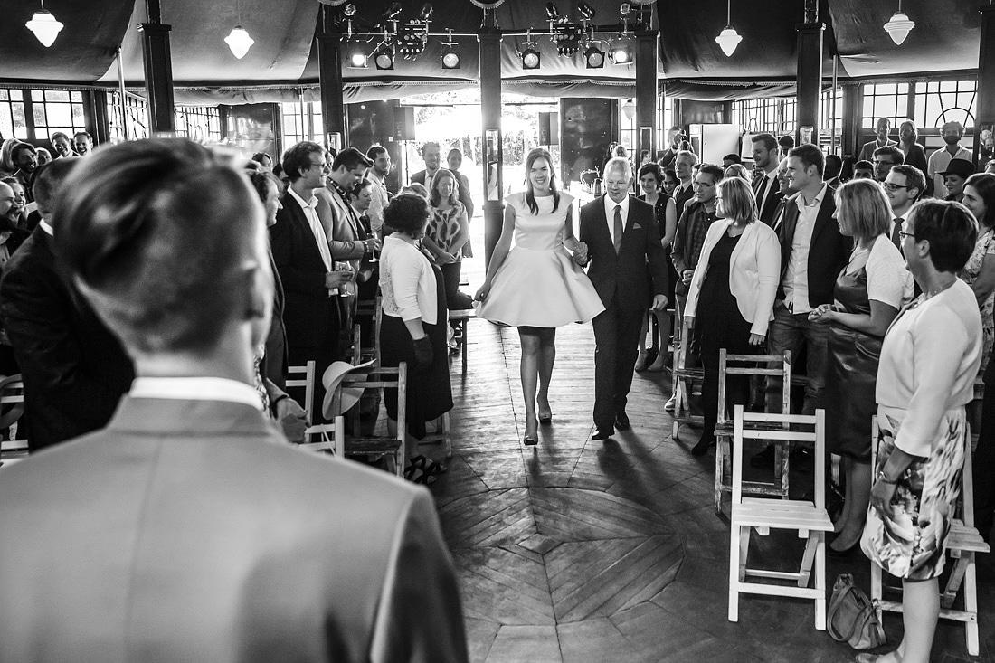 trouwceremonie spiegeltent