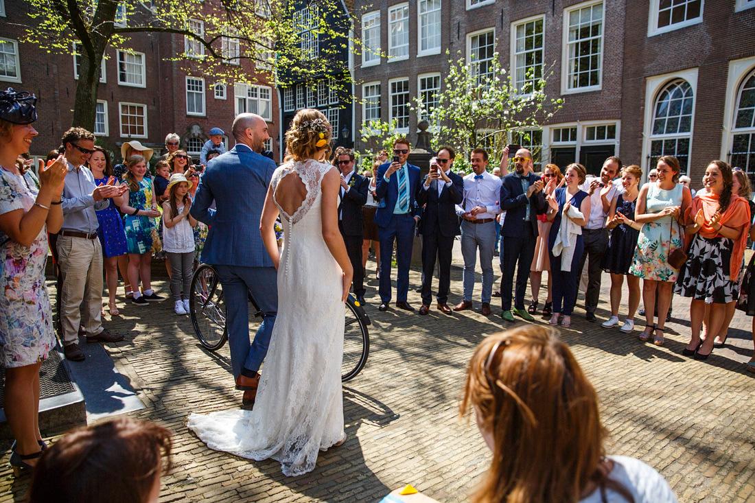 begijnhof amsterdam bruilof