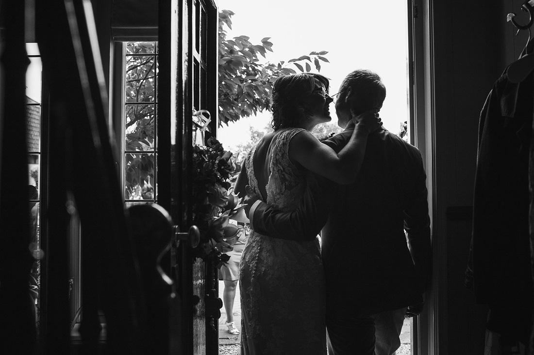 Ontmoeting bruid en bruidegom