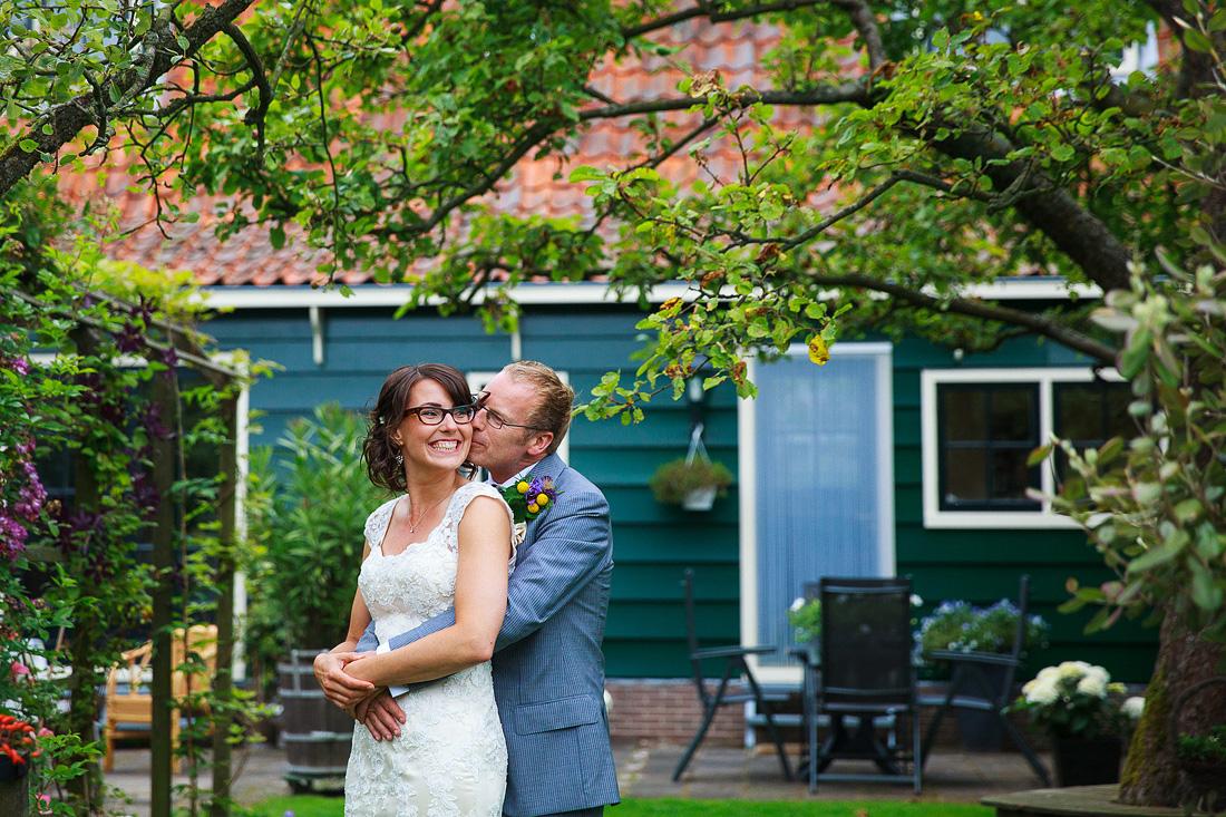 spontane fotoshoot bruiloft bruidsreportage