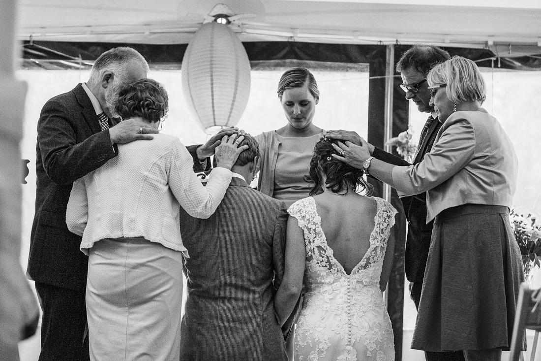 inzegening bruiloft