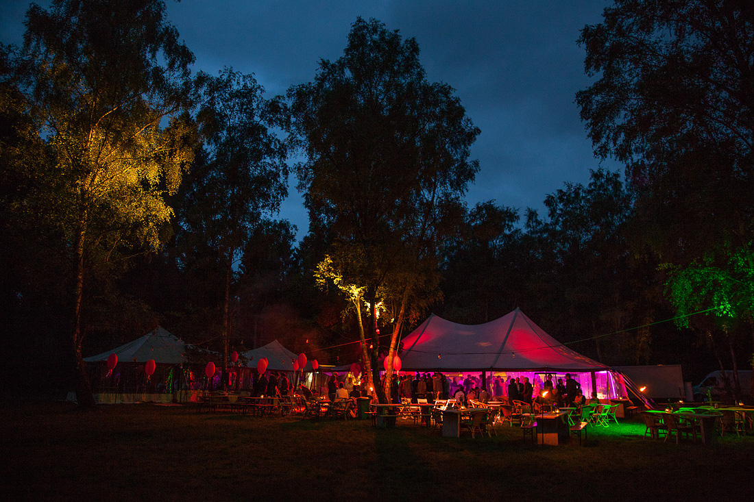 Bruiloft in Lage Vuursche – Feel Good Tent Event