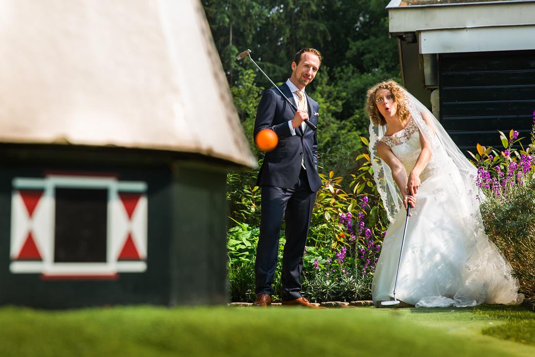 minigolf bruiloft