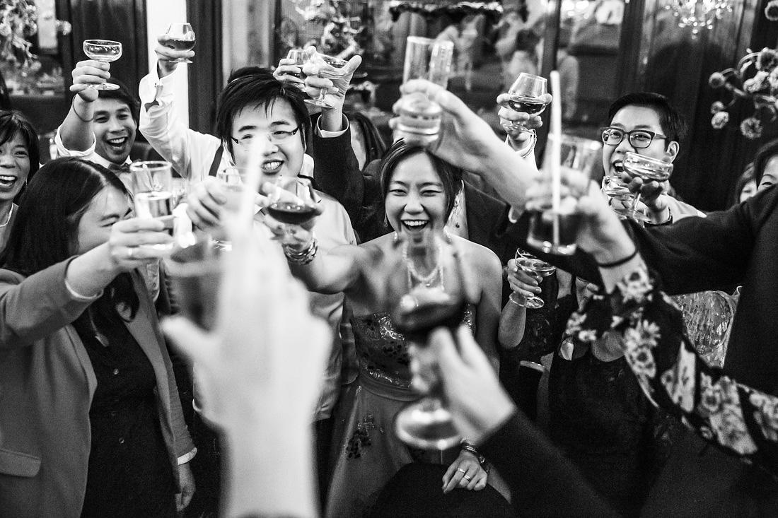 toost bruiloft chinees restaurant rotterdam