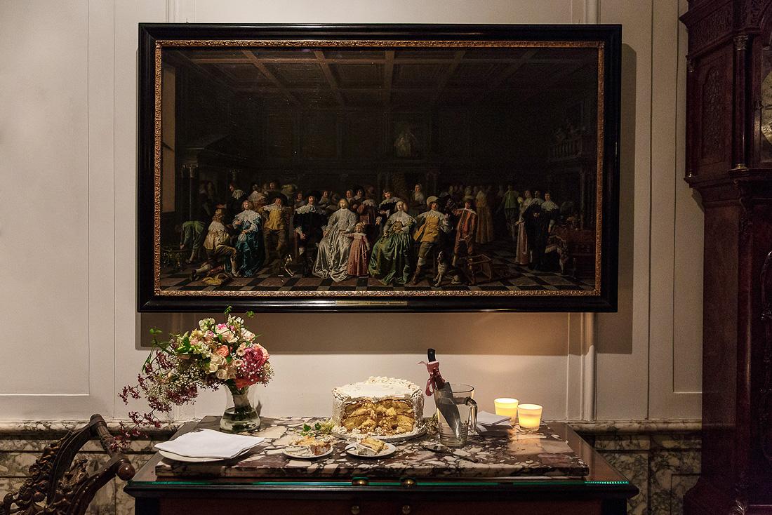 museum van loon bruiloft taart
