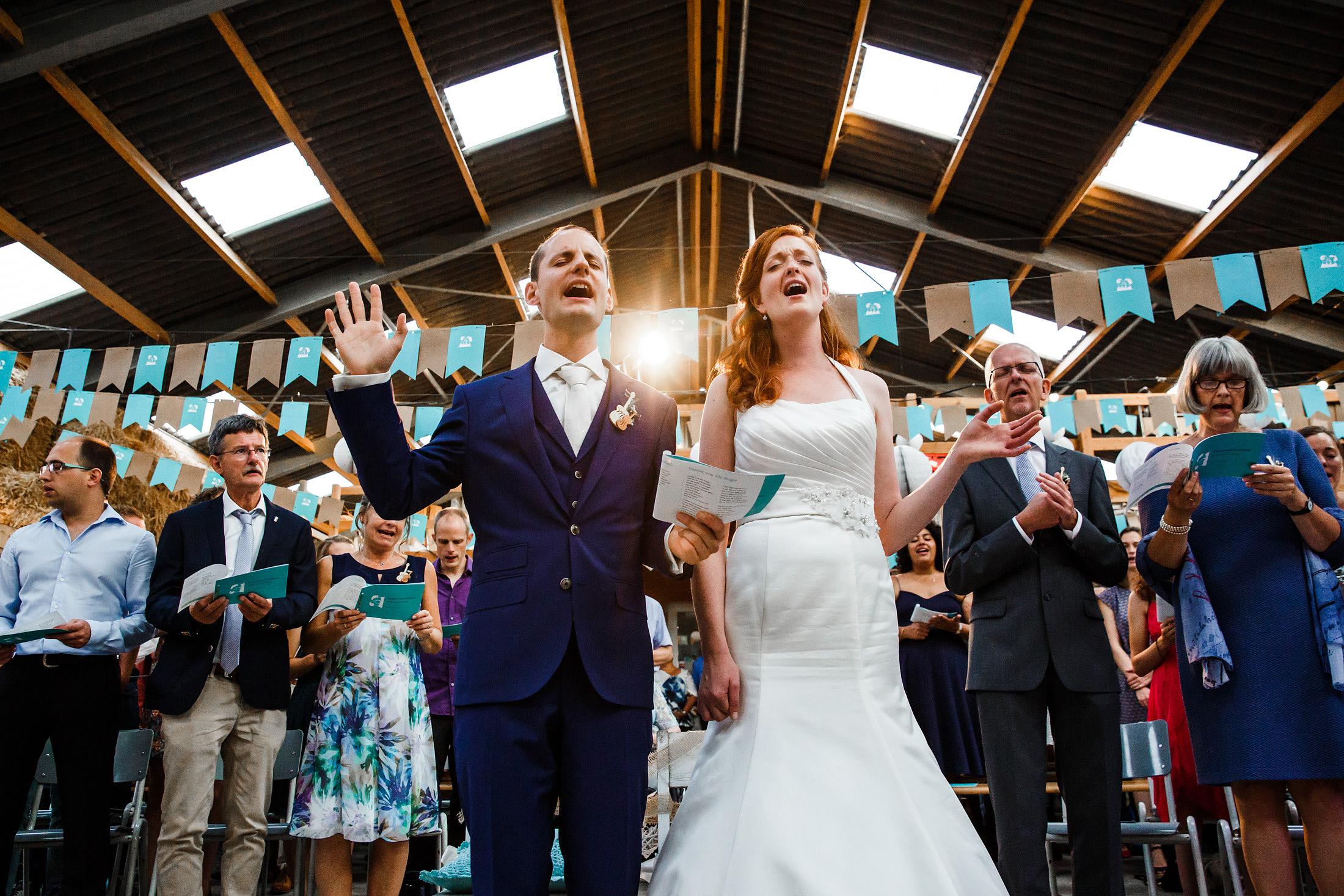 aanbidding bruiloft
