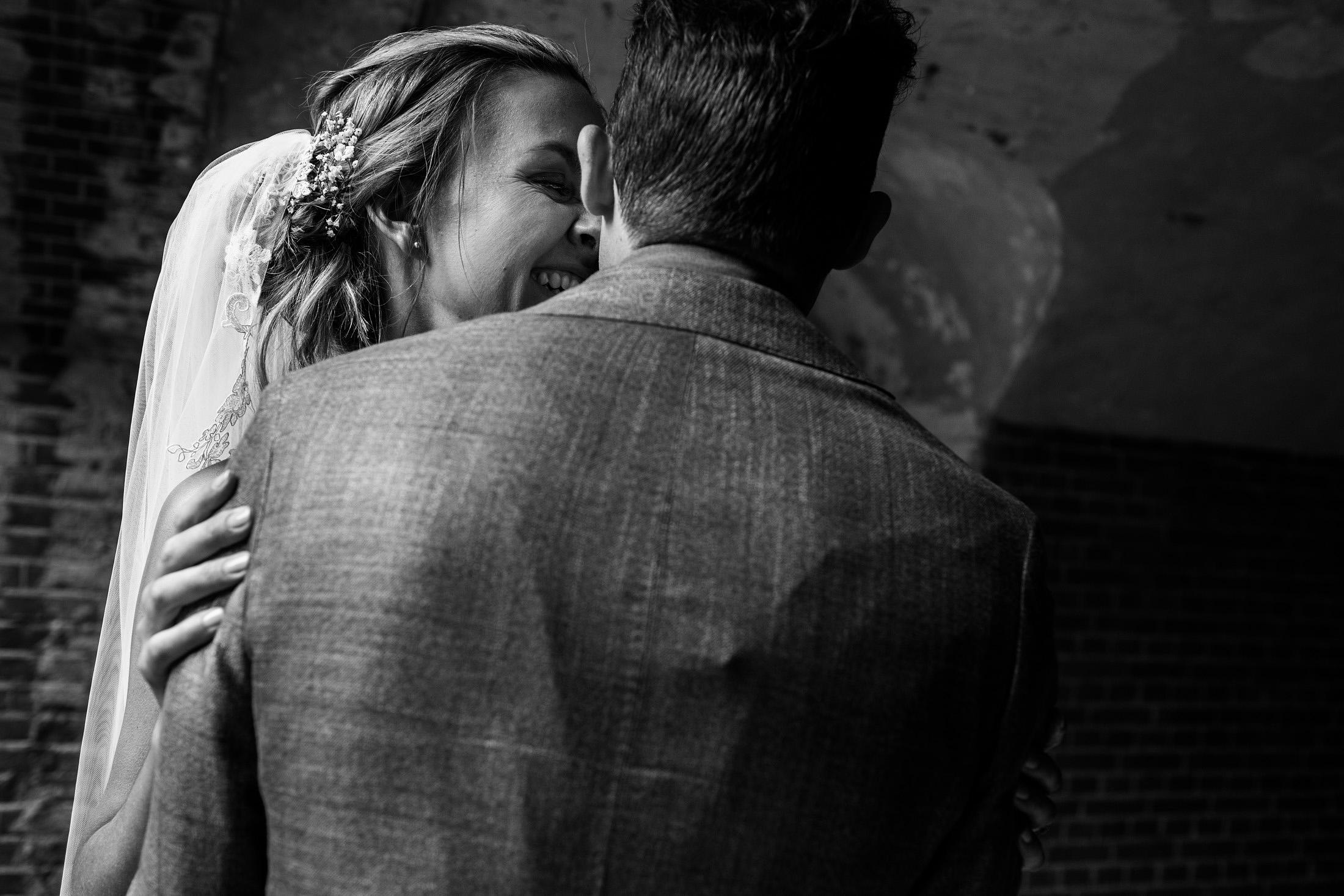 fotoshoot bruidspaar fort bij abcoude