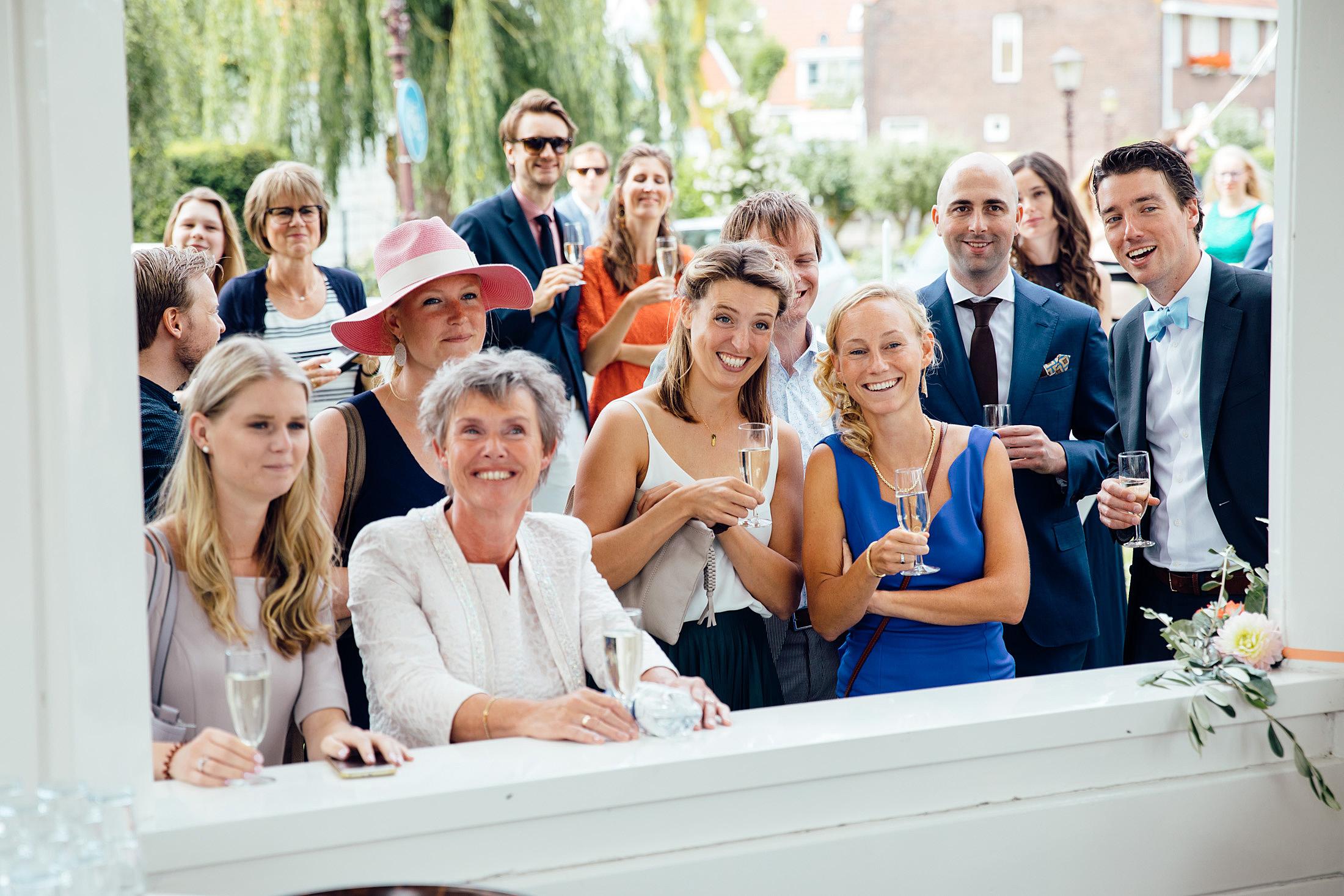 receptie trouwerij schellingwouderkerk amsterdam