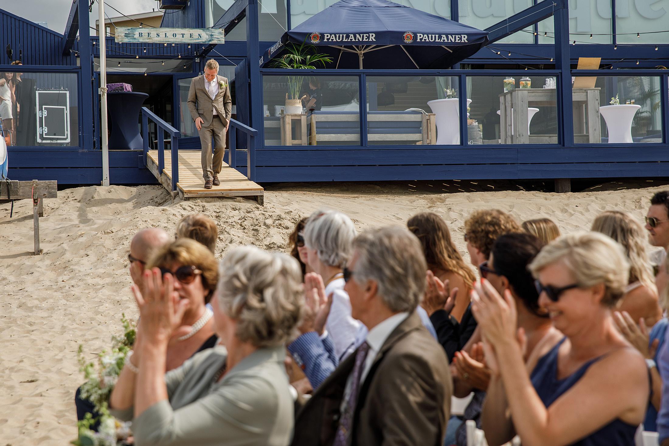 Trouwceremonie club nautique zandvoort