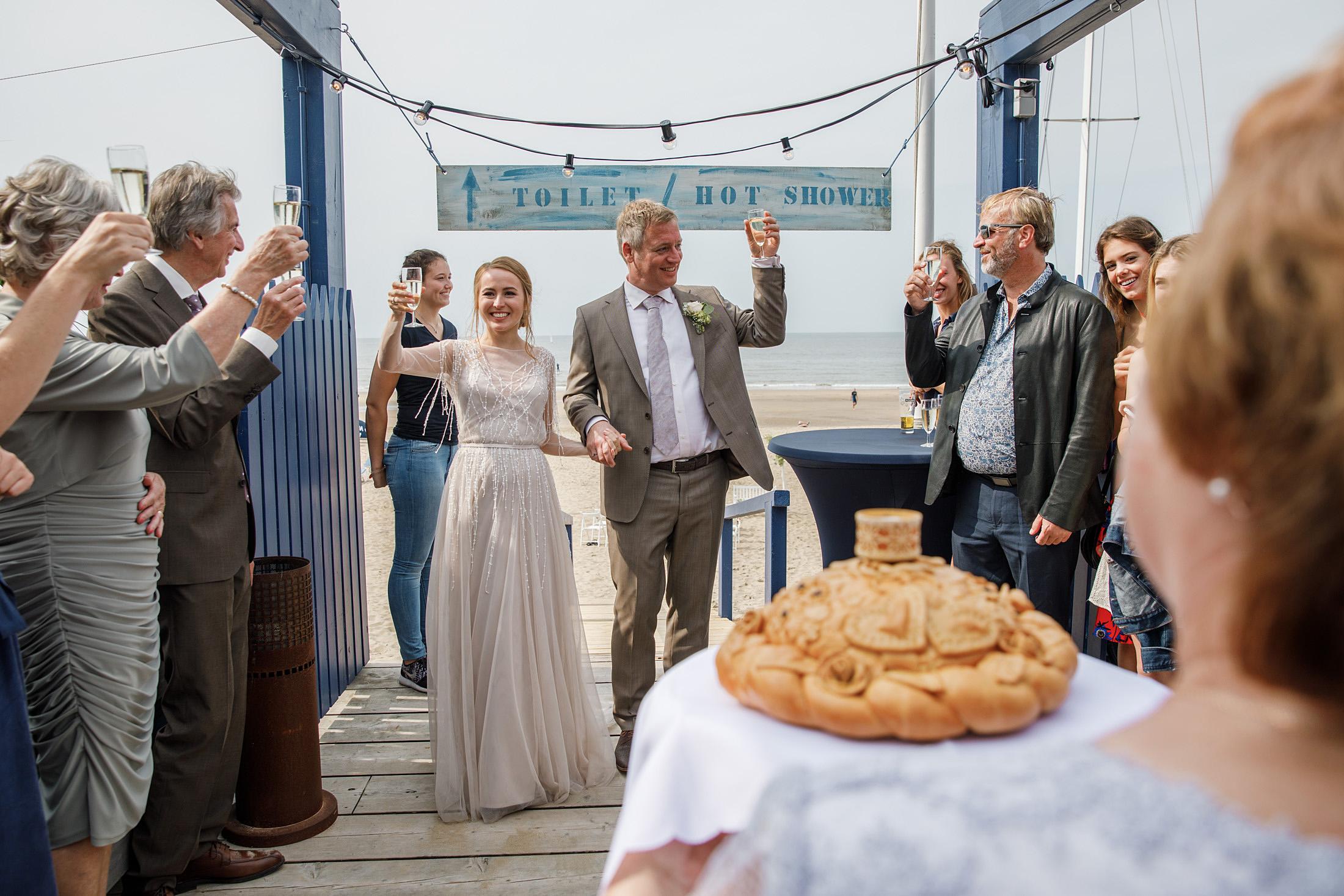 Russische traditie bruiloft brood