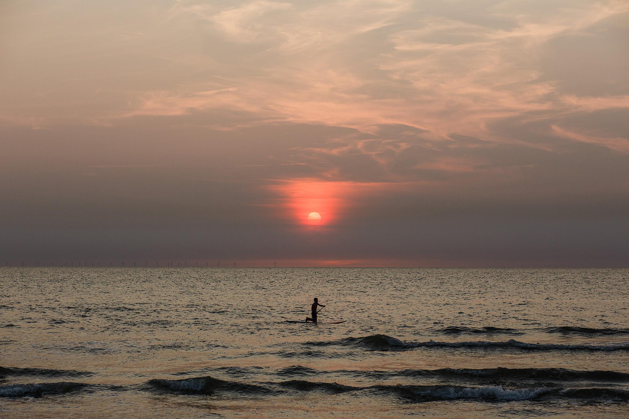 paddle board zandvoort