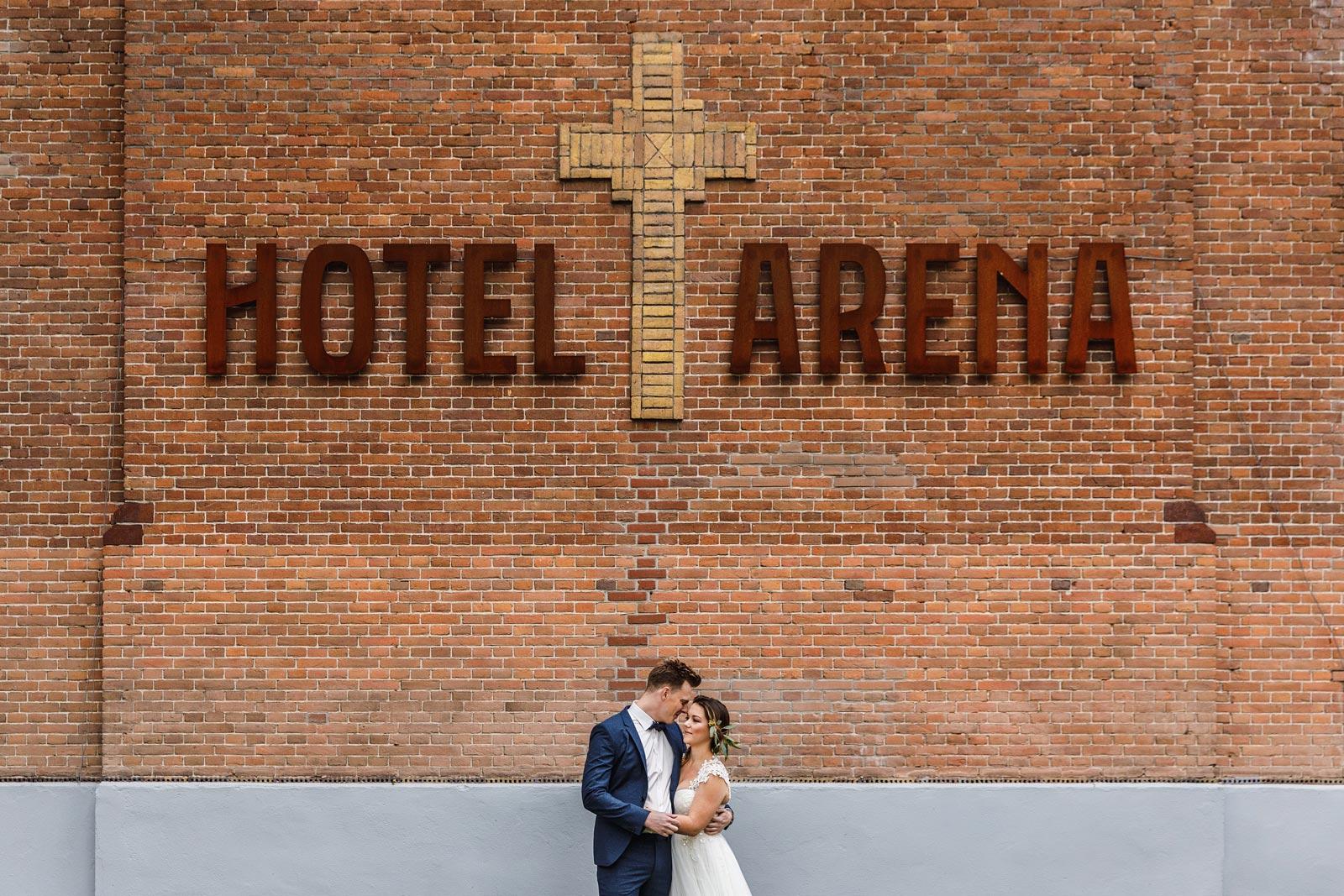 Trouwen bij Hotel Arena