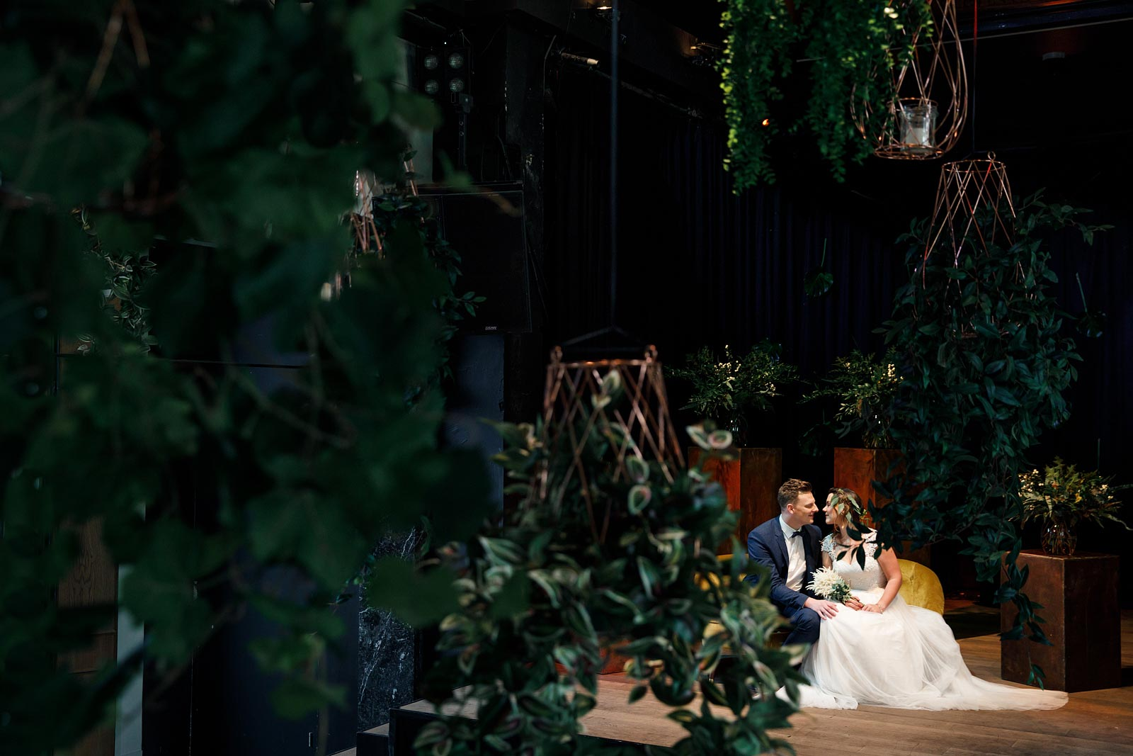Styled Wedding Shoot in Hotel Arena