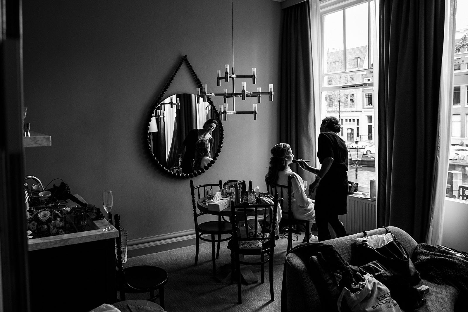 preparation bride pulitzer hotel amsterdam
