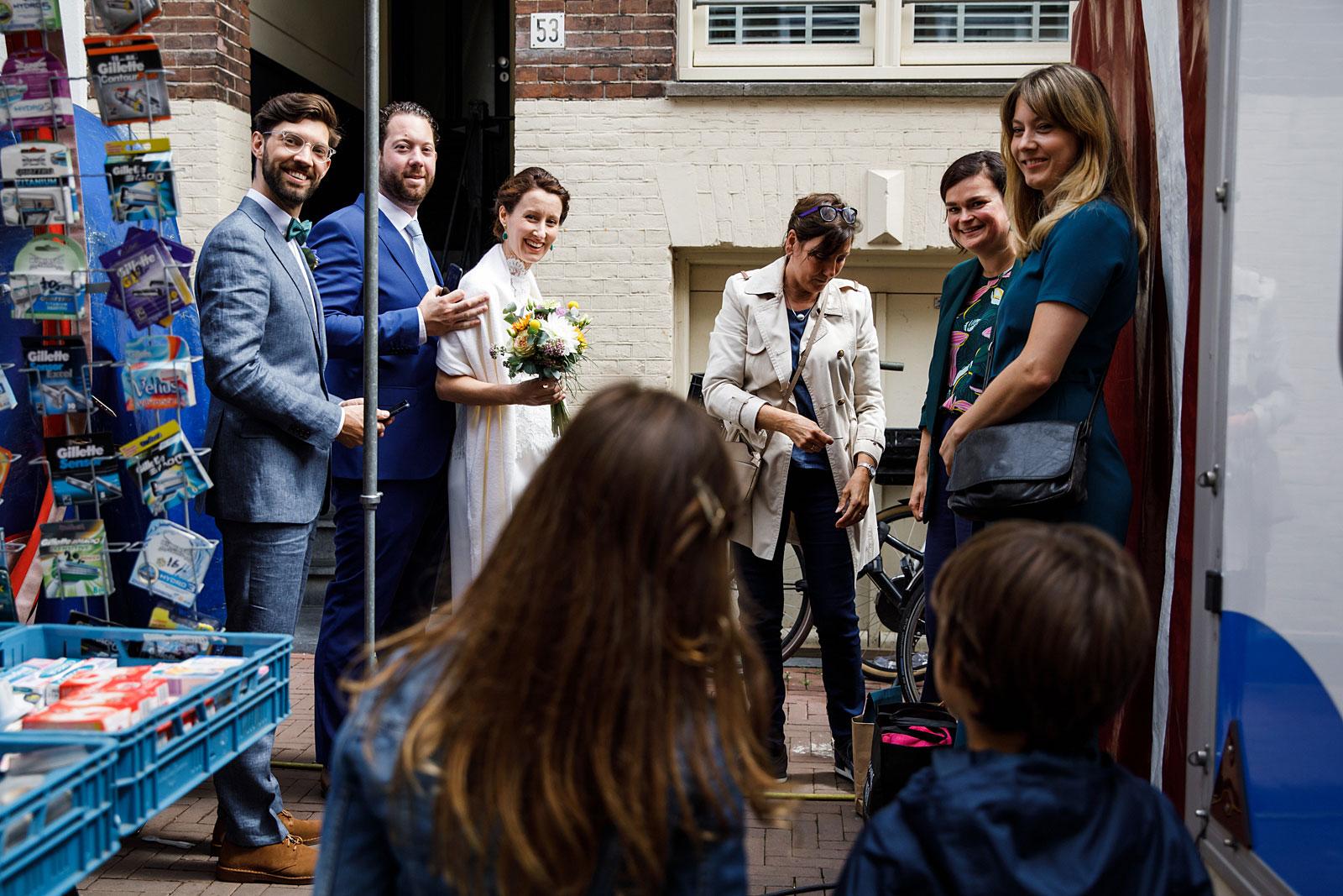 fotojournalistieke trouwreportage