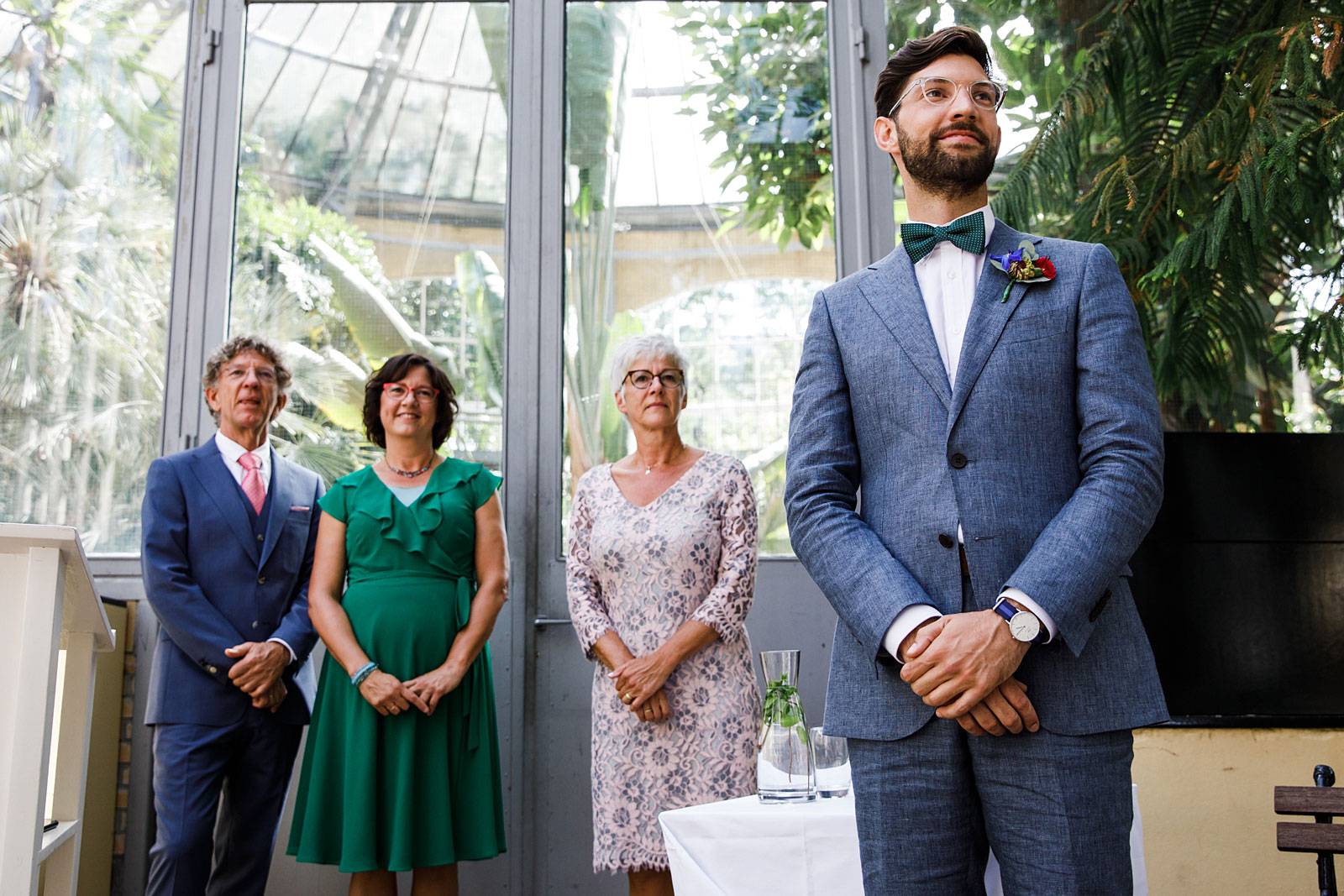 trouwceremonie hortus botanicus amsterdam