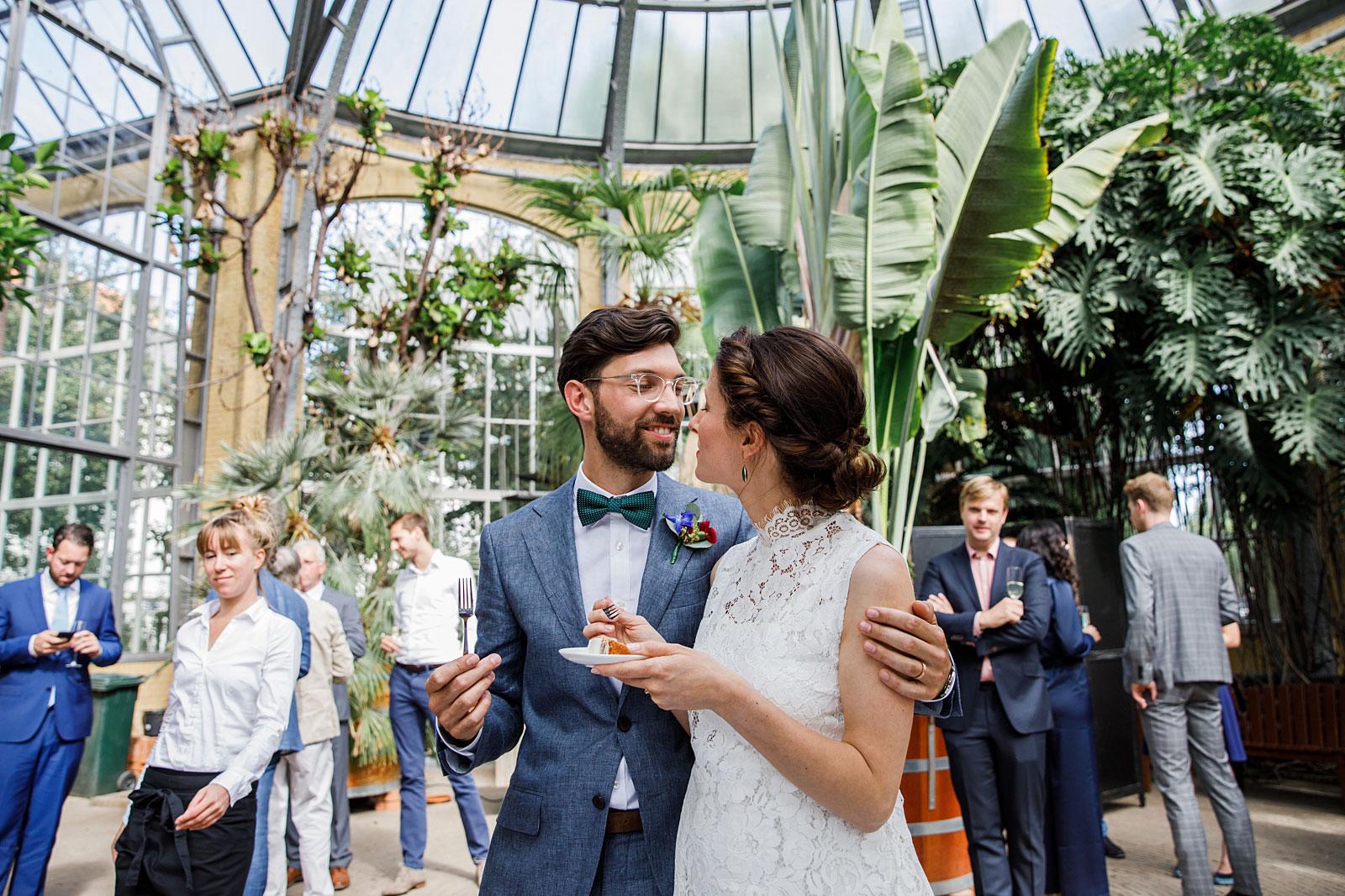 borrel bruiloft hortus botanicus