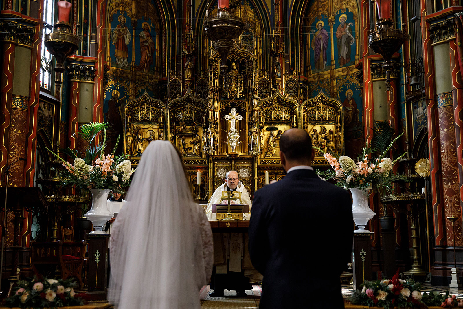 roman catholic wedding ceremony