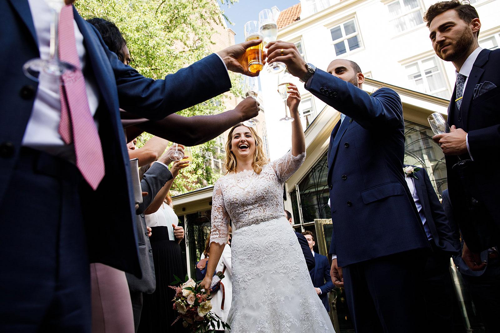 wedding reception pulitzer hotel amsterdam
