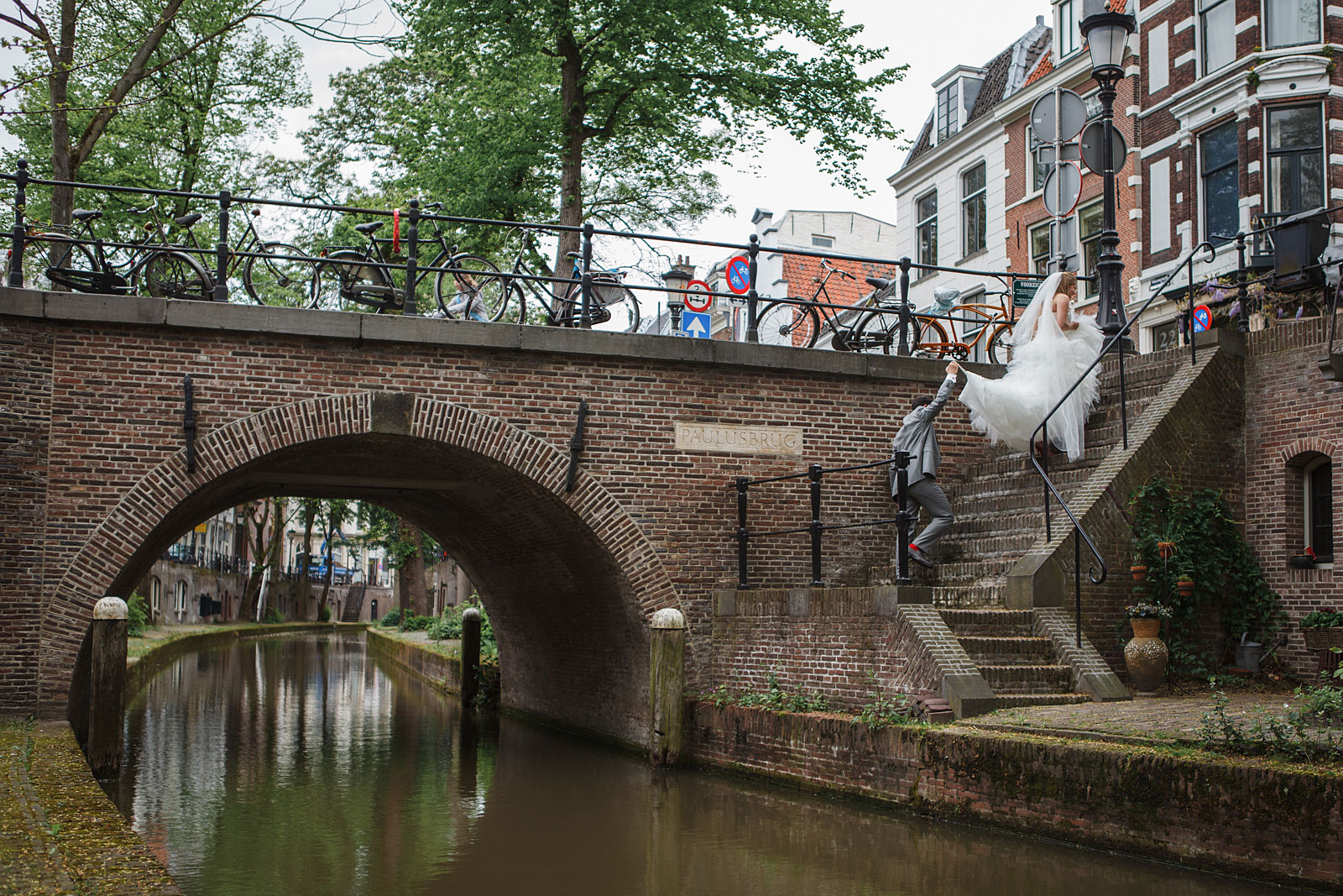 Grachten Utrecht Bruiloft