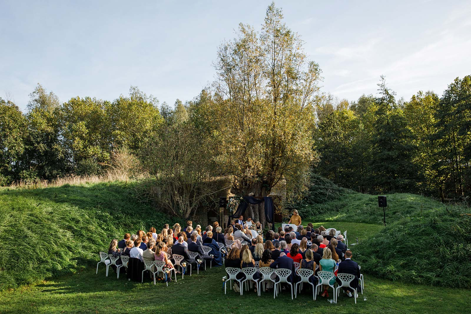 bruidsfotograaf amsterdam paviljoen puur