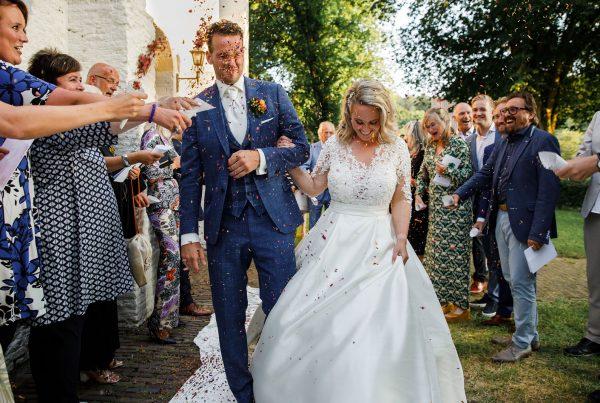confetti trouwceremonie